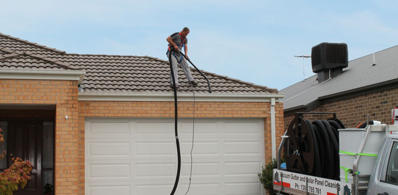Rhino Roofing Solutions Vacuum Gutter Cleaning Melbourne
